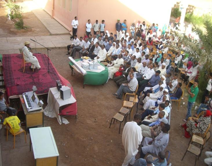 حفل تكريم للسيد مدير ثانوية سيدي صالح - تاكونيت -
