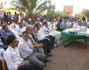 حفل تكريم للسيد مدير ثانوية سيدي صالح - تاكونيت -1