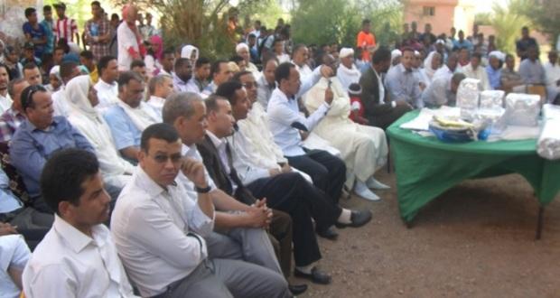 حفل تكريم للسيد مدير ثانوية سيدي صالح – تاكونيت -1