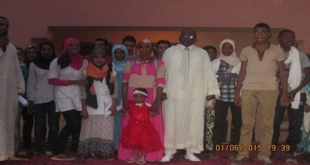 حفل تكريم للسيد مدير ثانوية سيدي صالح – تاكونيت -2