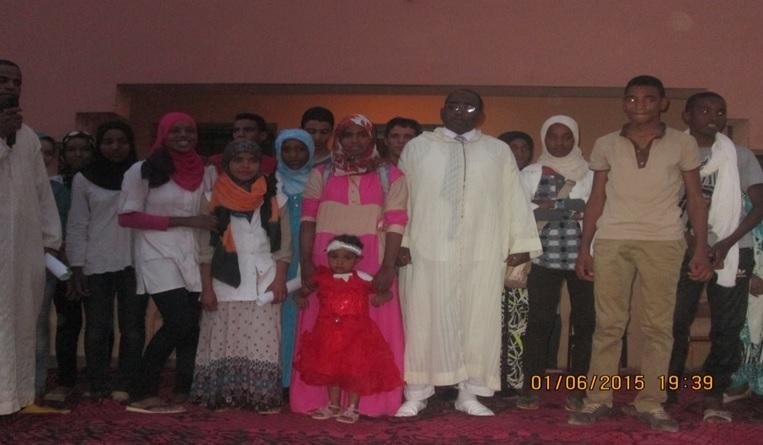 حفل تكريم للسيد مدير ثانوية سيدي صالح - تاكونيت -2