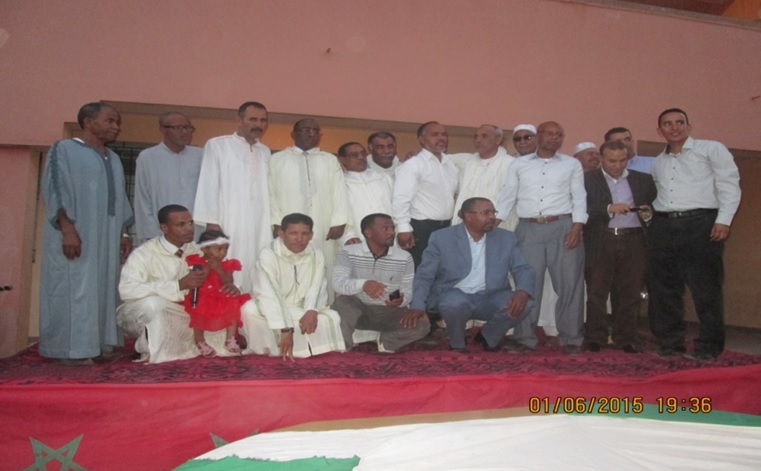 حفل تكريم للسيد مدير ثانوية سيدي صالح - تاكونيت -3