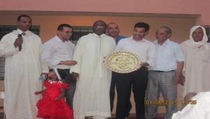 حفل تكريم للسيد مدير ثانوية سيدي صالح - تاكونيت -4