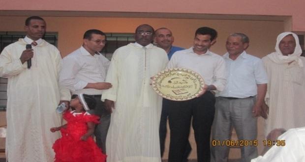 حفل تكريم للسيد مدير ثانوية سيدي صالح – تاكونيت -4