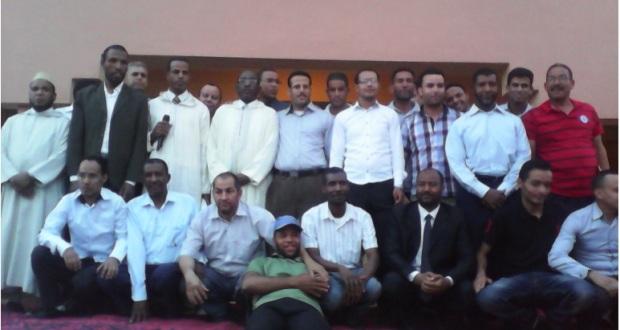 حفل تكريم للسيد مدير ثانوية سيدي صالح – تاكونيت -5