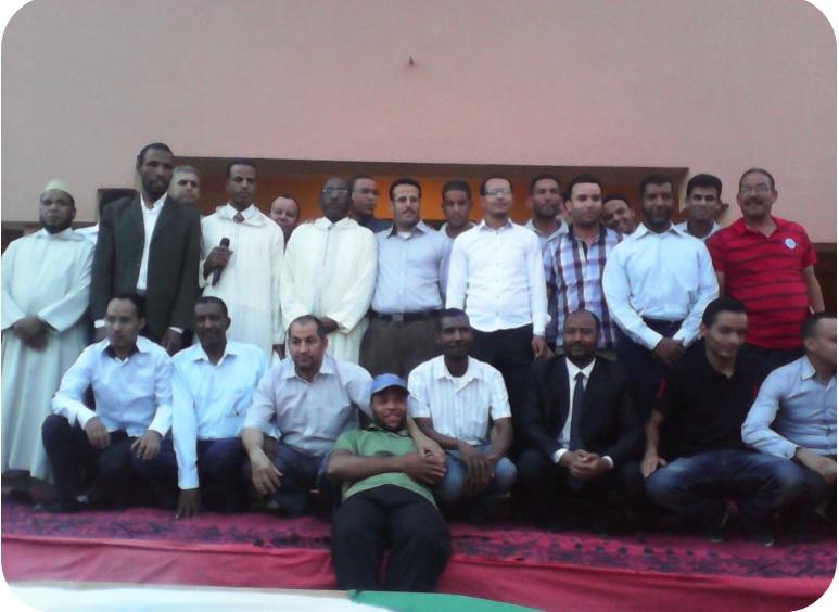 حفل تكريم للسيد مدير ثانوية سيدي صالح - تاكونيت -5