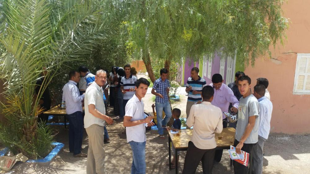حفل توقيع أول إصدار لكتاب أقلام الفكر و المعرفة بدار الشباب تازارين 2