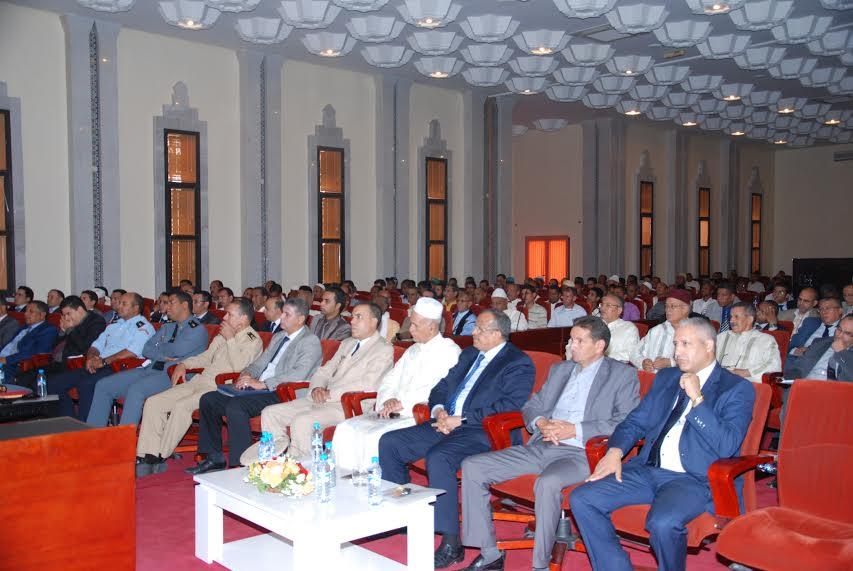 عرض مضامين انجازات الرؤية الإستراتيجية لتنمية إقليم زاكورة خلال سنة 2014 1