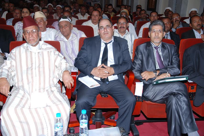 عرض مضامين انجازات الرؤية الإستراتيجية لتنمية إقليم زاكورة خلال سنة 2014