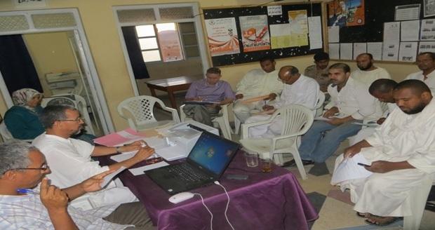 ميلاد كتابة اقليمية لجمعية الفضاء المغربي للمهنيين بزاكورة