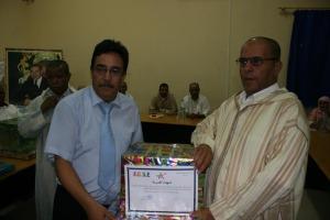 حفل تكريم المتقاعدين العاملين بمقر نيابة التعليم  بزاكورة  -3