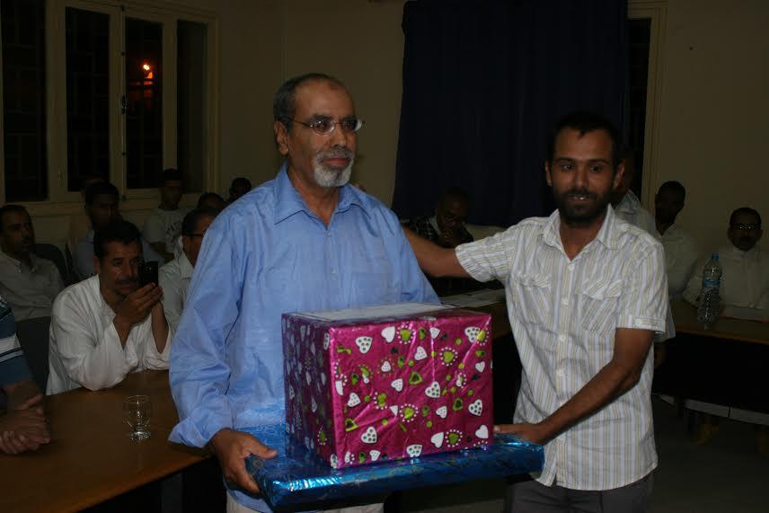 حفل تكريم المتقاعدين العاملين بمقر نيابة التعليم  بزاكورة