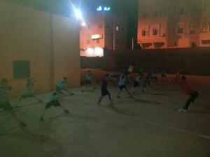 انطلاق تداريب مدرسة كرة القدم بزاكورة-1