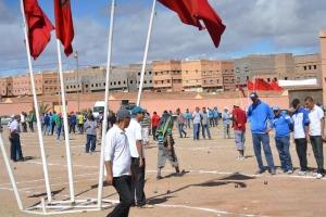 انطلاق فعاليات الدوري الوطني  للكرة الحديدية دوري كاس المسيرة الخضراء بزاكورة -1