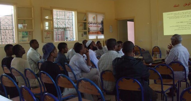 تعاونية شباب تمزموط في لقاء تواصلي تكويني -1
