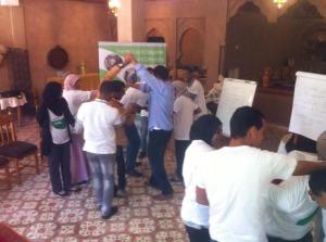 تكوين القادة الشباب ضمن برنامج مواطنون فاعلون من طرف fobdec بزاكورة-2