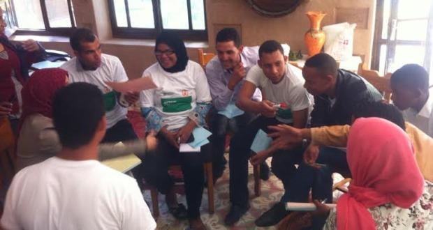 تكوين القادة الشباب ضمن برنامج مواطنون فاعلون من طرف fobdec بزاكورة-3