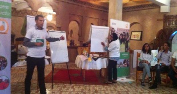 تكوين القادة الشباب ضمن برنامج مواطنون فاعلون من طرف fobdec بزاكورة