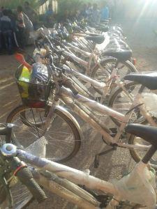 توزيع دراجات هوائية بامحاميد الغزلان -1