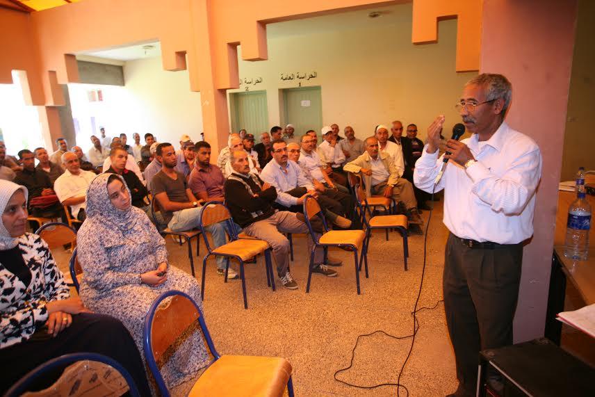ثانوية عبد الرحيم بوعبيد بورزازات تنظم لقاءا تواصليا بين أطقم المؤسسة والأمهات و الآباء-3