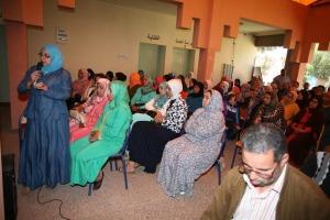 ثانوية عبد الرحيم بوعبيد بورزازات تنظم لقاءا تواصليا بين أطقم المؤسسة والأمهات و الآباء-6