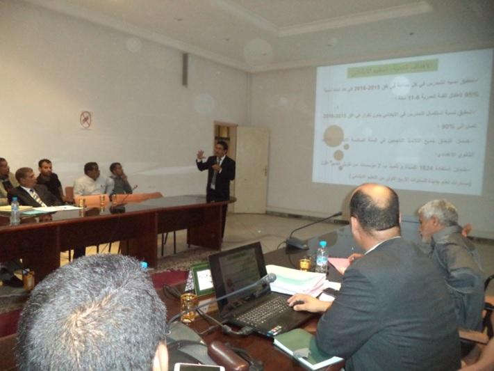 قضايا التربية والتكوين في جدول أعمال أولى جلسات المجلس الإقليمي بزاكورة-1