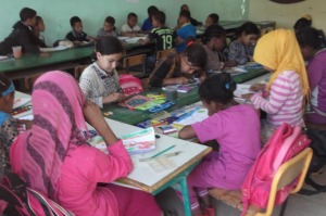 مجموعة مدارس بني علي في موعد مع اليوم العالمي للطفل و اليوم الوطني للمرأة -2