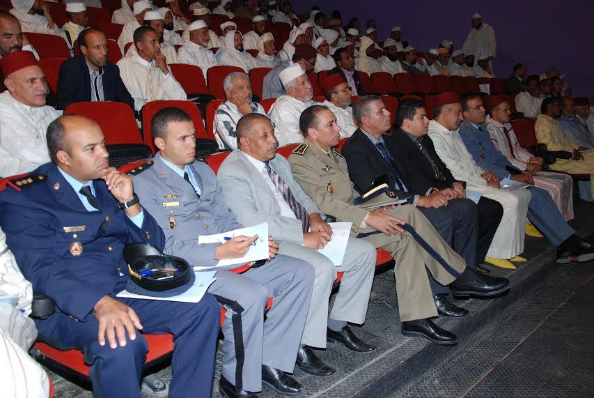 أنشطة المجلس العلمي المحلي بإقليم زاكورة بمناسبة الموسم السنوي للزاوية الناصرية -1