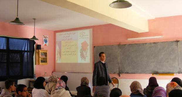 التحفيز والتفوق الدراسي هما المحورين الرئيسين للدورة التدريبية  (2)