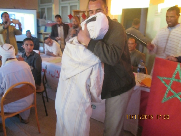 - تخليد ذكرى المسيرة الخضراء وعيد الاستقلال بثانوية سيدي صالح - تاكونيت 1