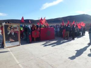 ثانوية أفلاندرا الاعدادية تحتفي بذكرى المسيرة الخضراء وعيد الاستقلال