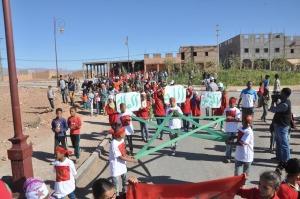دار الشباب بني زولي تحتفل بالذكرى الأربعين  للمسيرة الخضراء