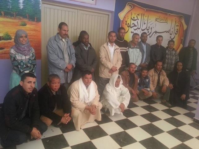 مصطفى الزقي كاتبا محليا لحزب العدالة والتنمية بالنقوب 1