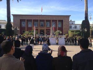 احتجاج أساتذة سد الخصاص و التربية غير النظامية بشوارع  بالرباط