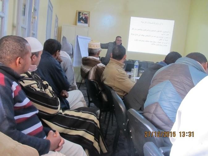الجماعة القروية لترناتة تنظم أياما تكوينية للمستشارين والموظفين والمجتمع المدني-1