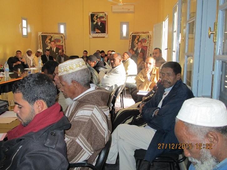 الجماعة القروية لترناتة تنظم أياما تكوينية للمستشارين والموظفين والمجتمع المدني-2