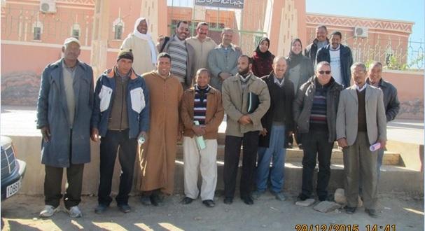 الجماعة القروية لترناتة تنظم أياما تكوينية للمستشارين والموظفين والمجتمع المدني-4