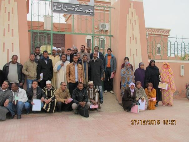 الجماعة القروية لترناتة تنظم أياما تكوينية للمستشارين والموظفين والمجتمع المدني-5