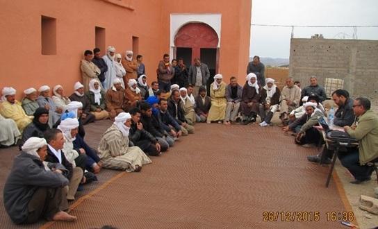 الجماعة القروية لترناتة تنظم أياما تكوينية للمستشارين والموظفين والمجتمع المدني
