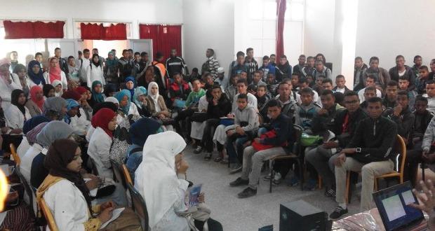تلاميذ الخوارزمي يناقشون واقع حقوق الطفل بأكدز-7