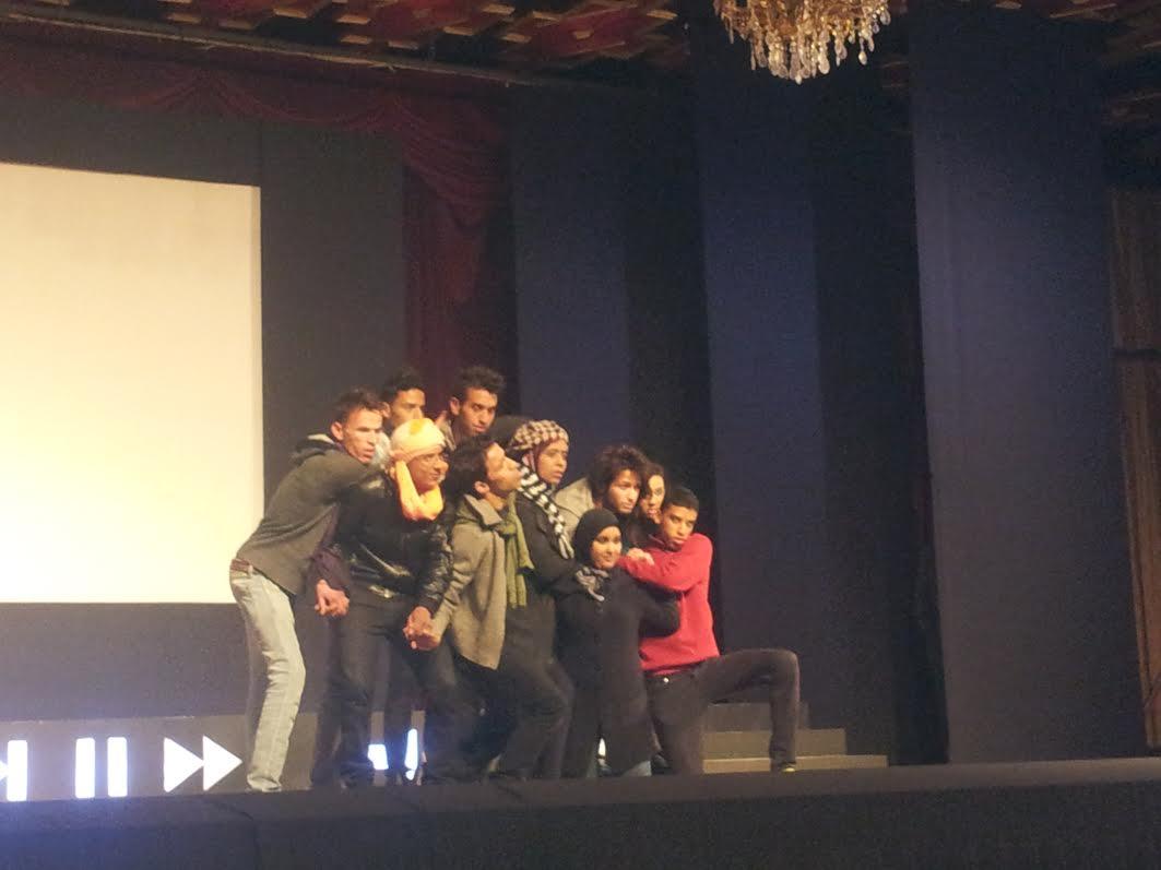 تنظيم المهرجان الجامعي الدولي الأولالسينماالشباب بورزازات-1