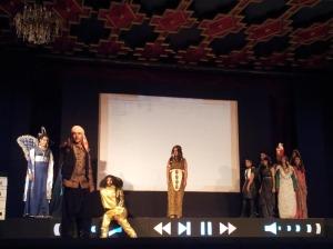 تنظيم المهرجان الجامعي الدولي الأولالسينماالشباب بورزازات-2