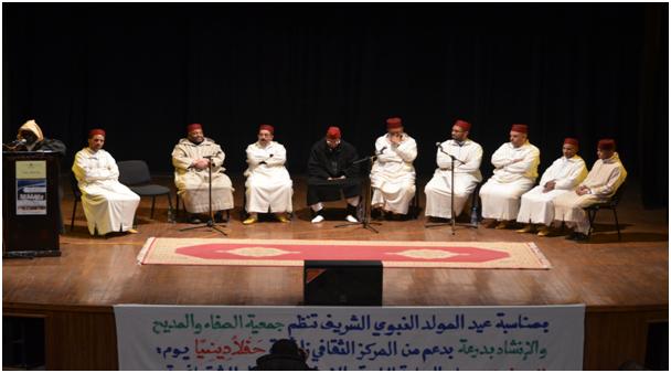 جمعية الصفاء للمديح والإنشاد بدرعة
