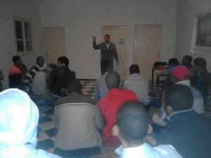 جمعية قصر بني صبيح للبيئة والتنمية تنظم دورة مهارات التواصل الفعال