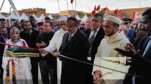 عامل إقليم زاكورة يترأس افتتاح المهرجان الدولي الرابع للحناء بتازارين
