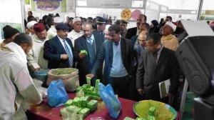 عامل إقليم زاكورة يترأس افتتاح المهرجان الدولي الرابع للحناء بتازارين-8