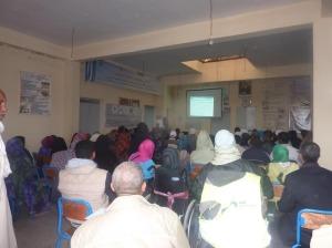 لقاء تواصلي بخصوص صندوق التماسك الاجتماعي بمقر جمعية الأشخاص المعاقين  بزاكورة-0