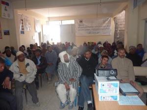 لقاء تواصلي بخصوص صندوق التماسك الاجتماعي بمقر جمعية الأشخاص المعاقين  بزاكورة-4
