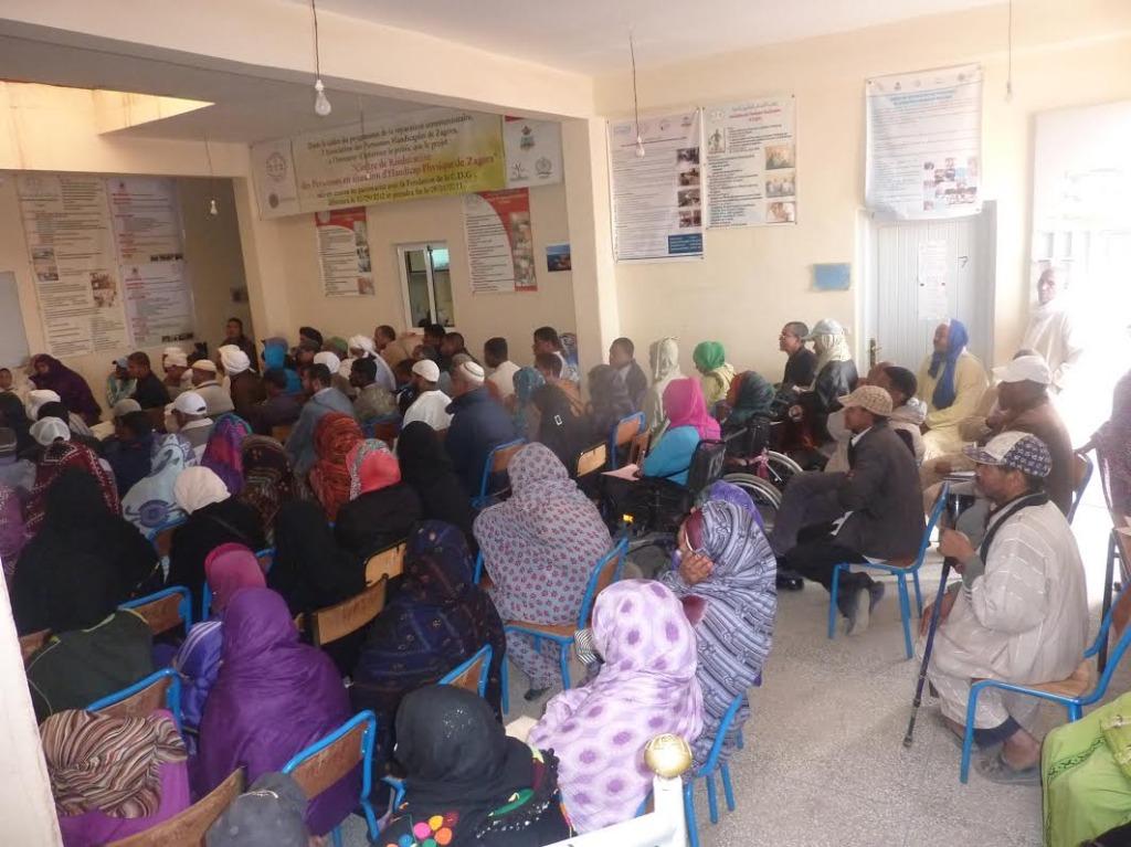 لقاء تواصلي بخصوص صندوق التماسك الاجتماعي بمقر جمعية الأشخاص المعاقين  بزاكورة-6