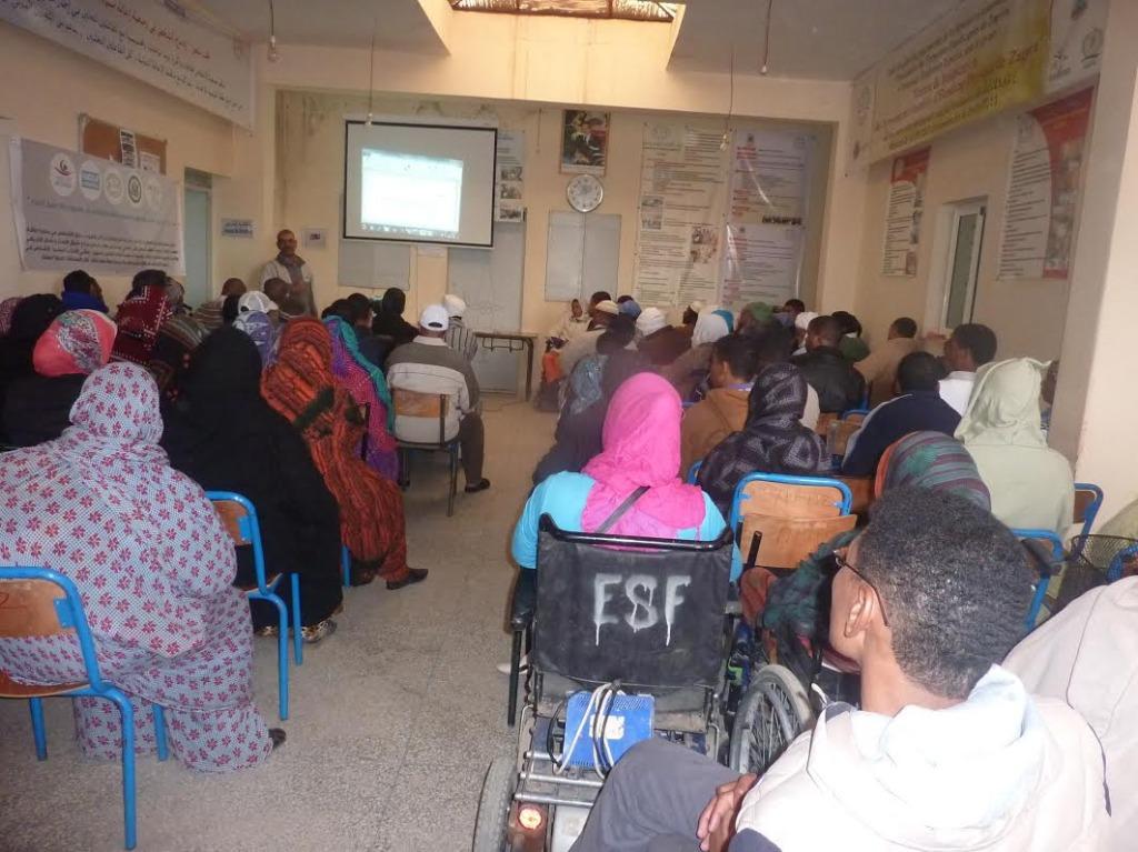 لقاء تواصلي بخصوص صندوق التماسك الاجتماعي بمقر جمعية الأشخاص المعاقين  بزاكورة=7